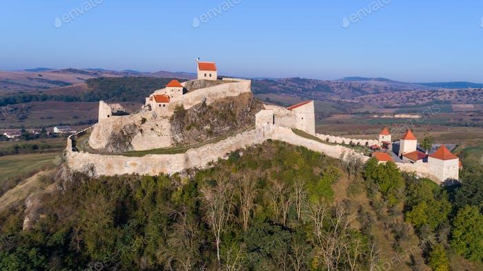 Rupea fortress, Brasov county, Romania.