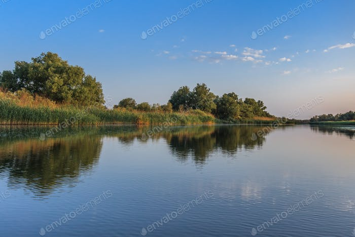 river channel