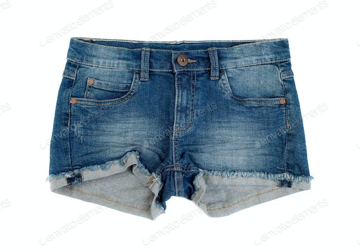 Thumbnail for Short denim shorts.