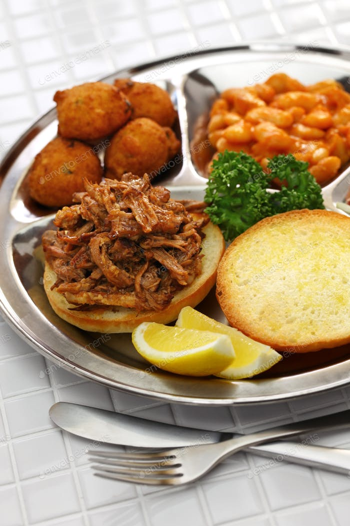 Thumbnail for North Carolina barbecue plate