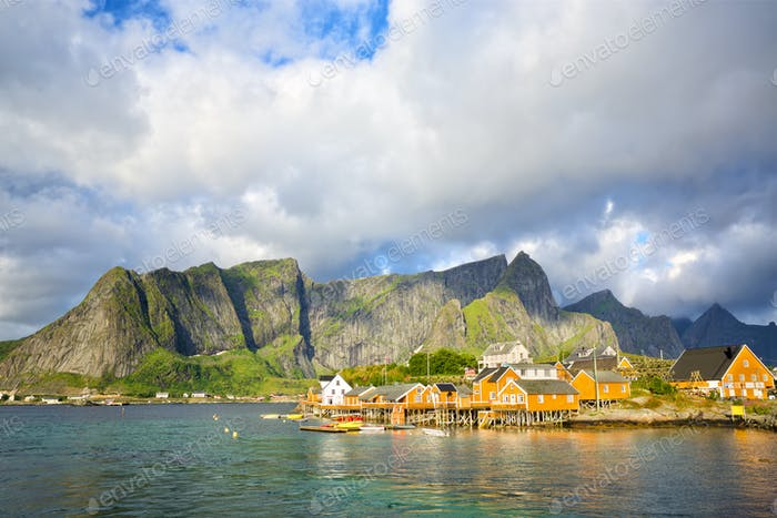 Reine and Sakrisoy fishing villages