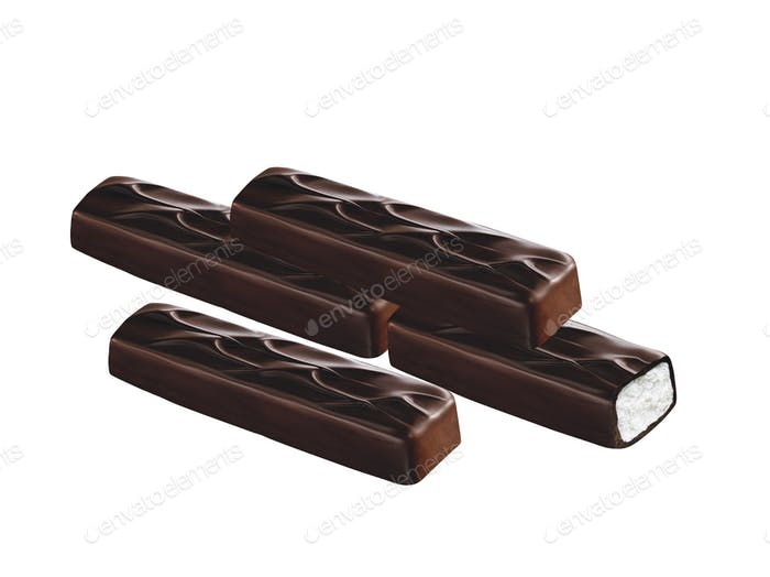 Chocolate covered bar