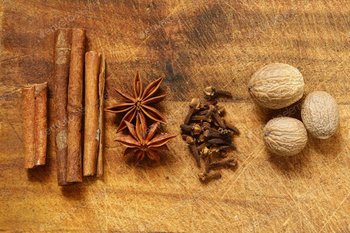 Spices for Winter Tea