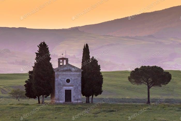 Chapel of Madonna Siena Tuscany