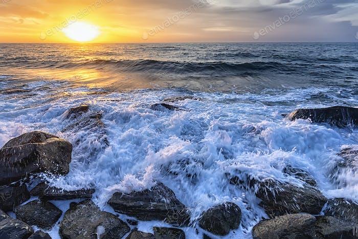 Atemberaubende Meereslandschaft