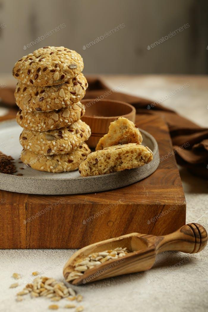 Natürliche Bio-Cookies