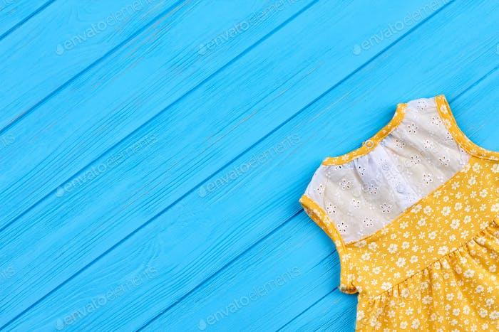 Summer sleeveless dress for little girls
