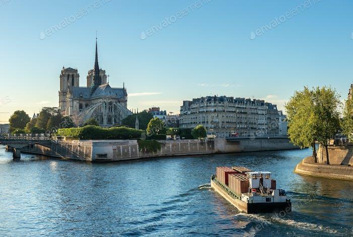 Gotischer Stil von Notre Dame