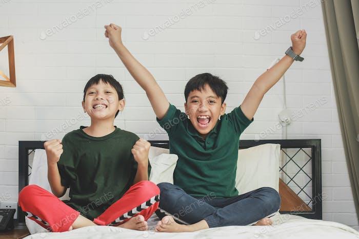 Happy Asian Boys