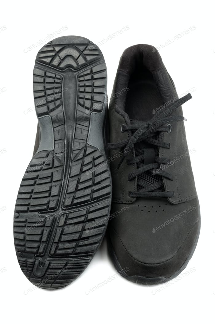 Black mens shoes