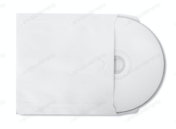 CD in paper bag