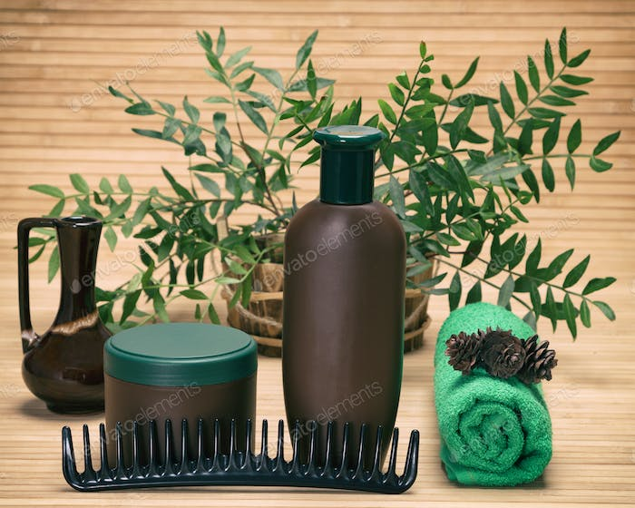 Natural hair treatment products