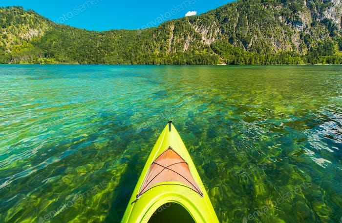 Scenic Lake Kayak