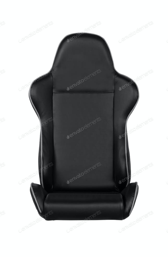 gaming seat, isolated on white