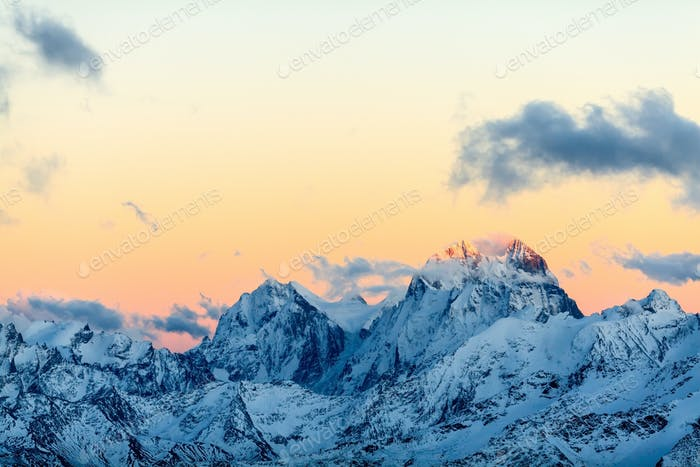 Mountains landscape, Caucasus