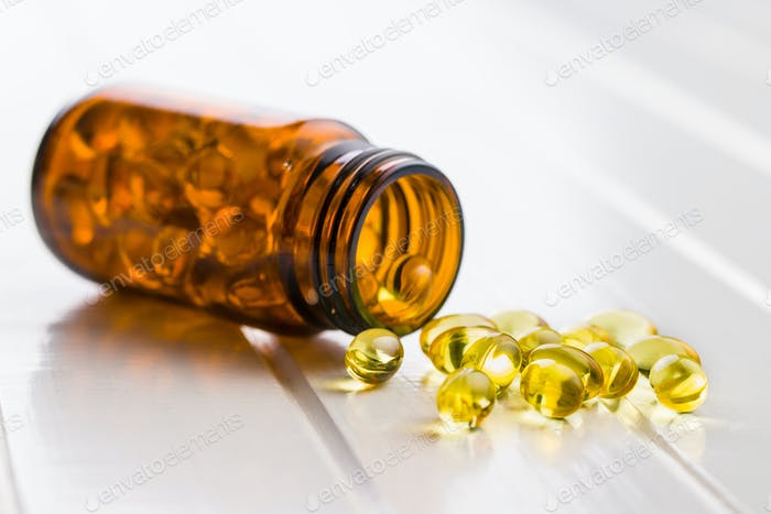 Omega 3 Gelkapseln