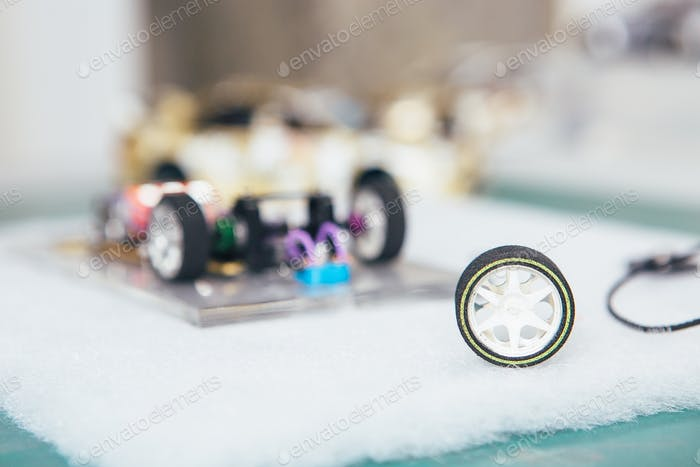Handcrafted miniature toy car