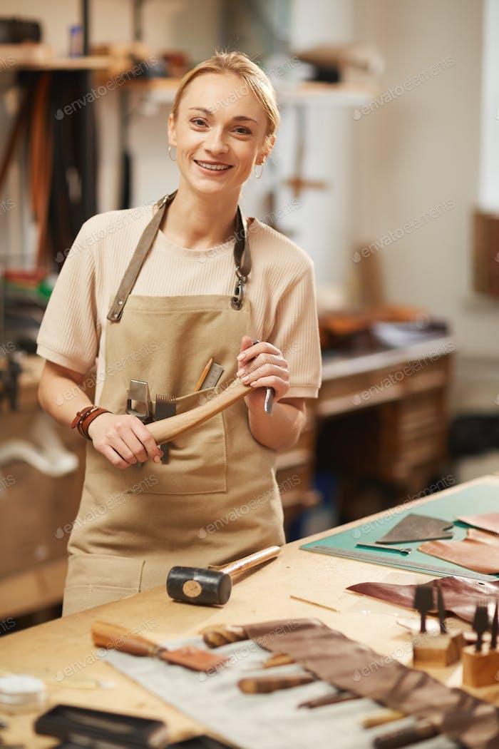 Modern Female Artisan Portrait