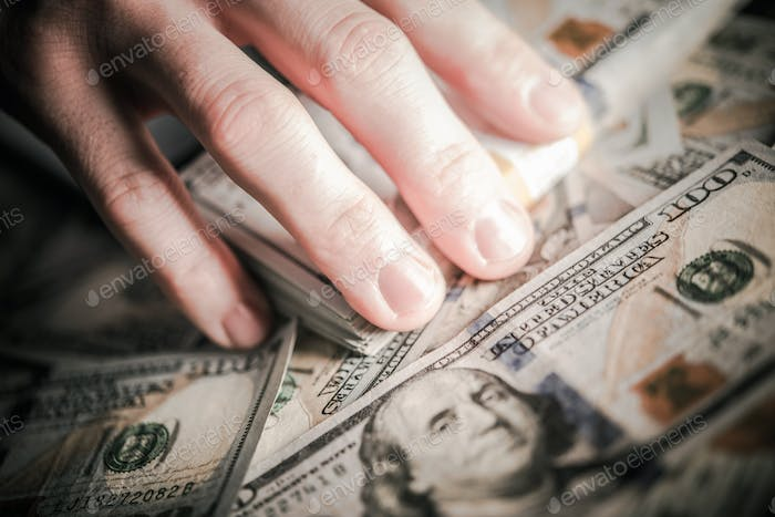 Hands on the Money