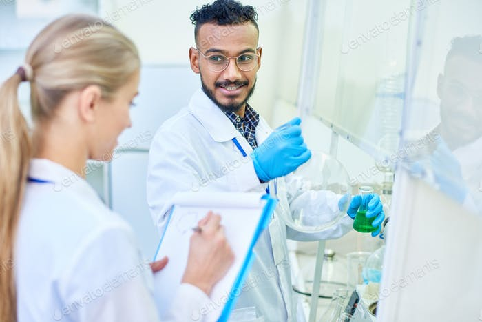 Experienced researcher ready for new discovery