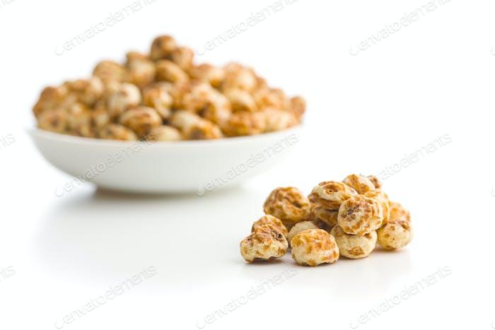 Tiger nuts. Tasty chufa nuts.