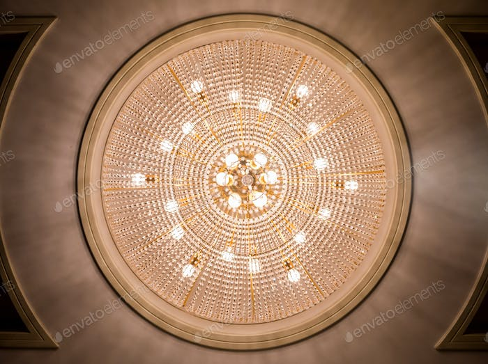 Chandelier ceiling light decoration