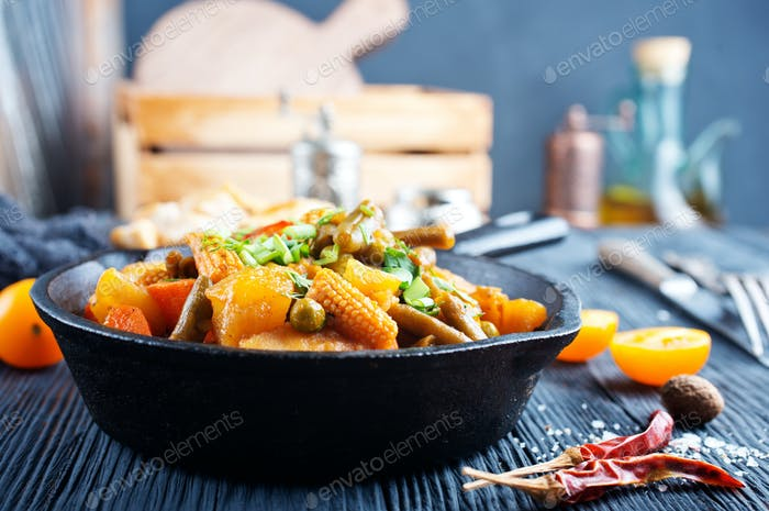 vegetables stew