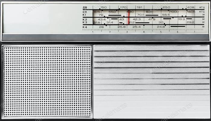 Altmodisches Radio