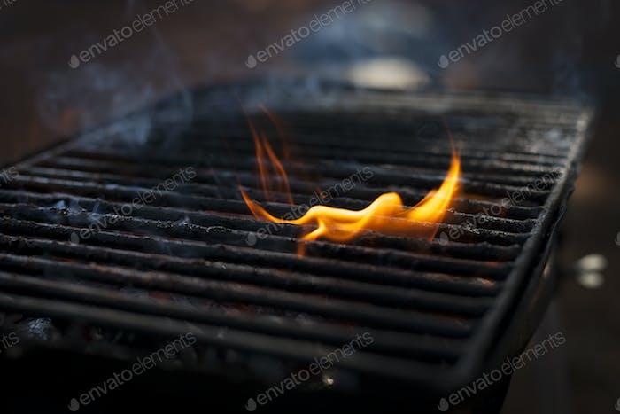 Burning Grill