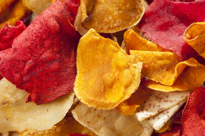 Fresh Cut Organic Vegetable Chips