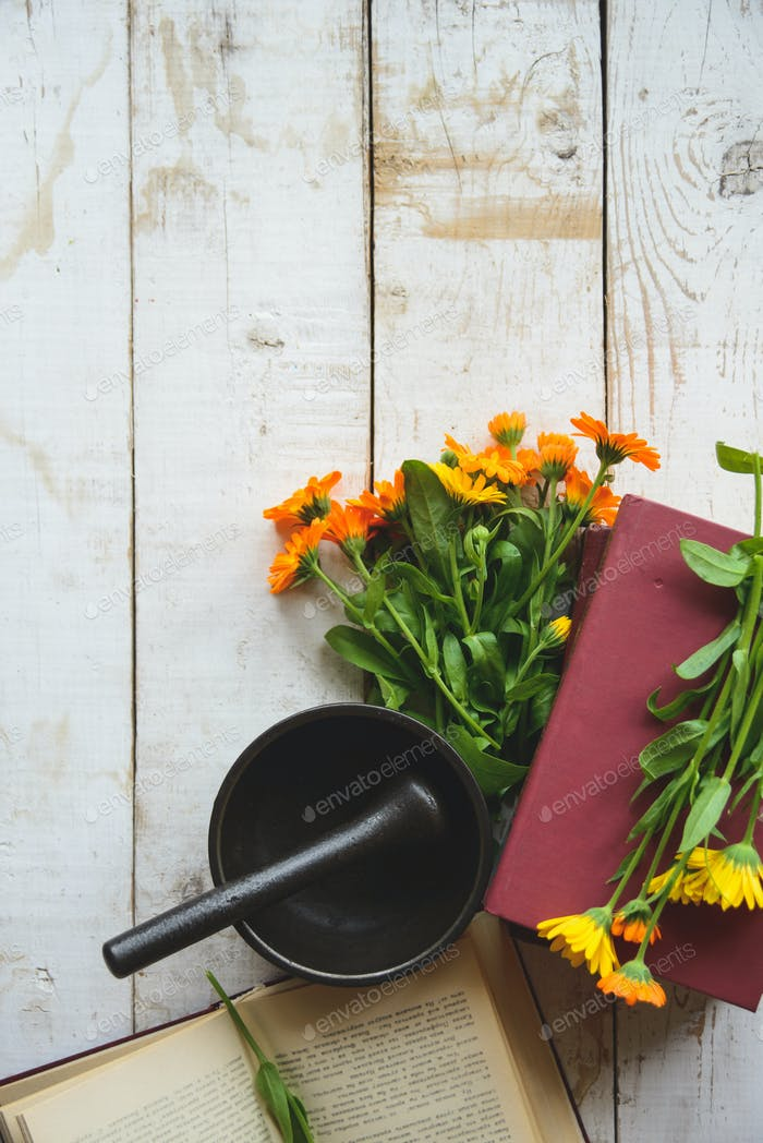 Blumenstrauß Calendula