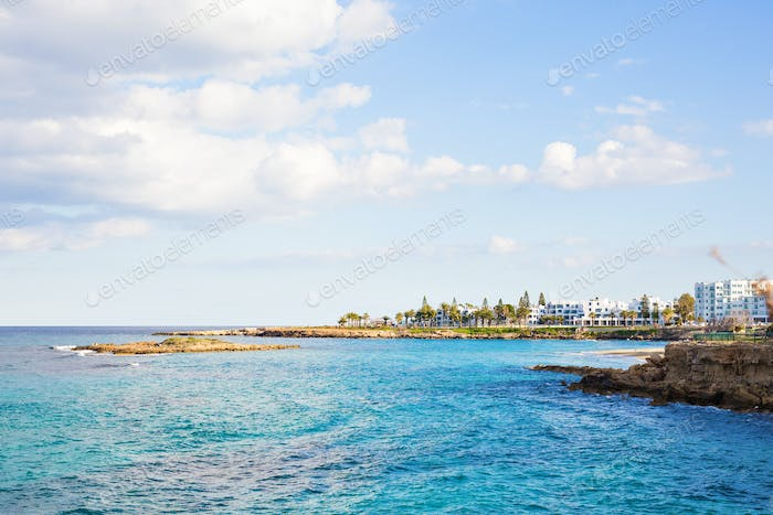 Fig Tree Bay, Protaras, Cyprus, Mediterranean sea