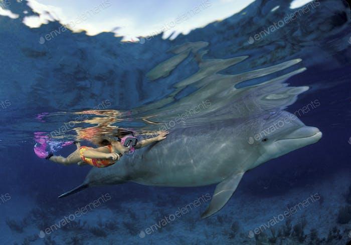Kinderschnorchel mit Delphin