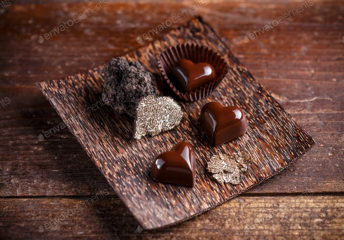 Gourmet-Schokoladentrüffel