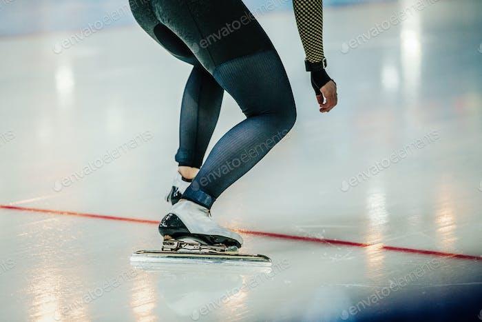 Feet Athlete Speed Skater