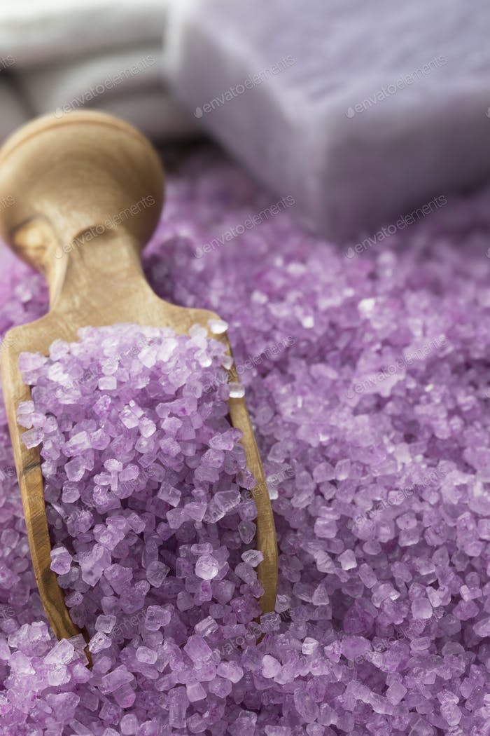 Relaxing Lavender Bath Salts