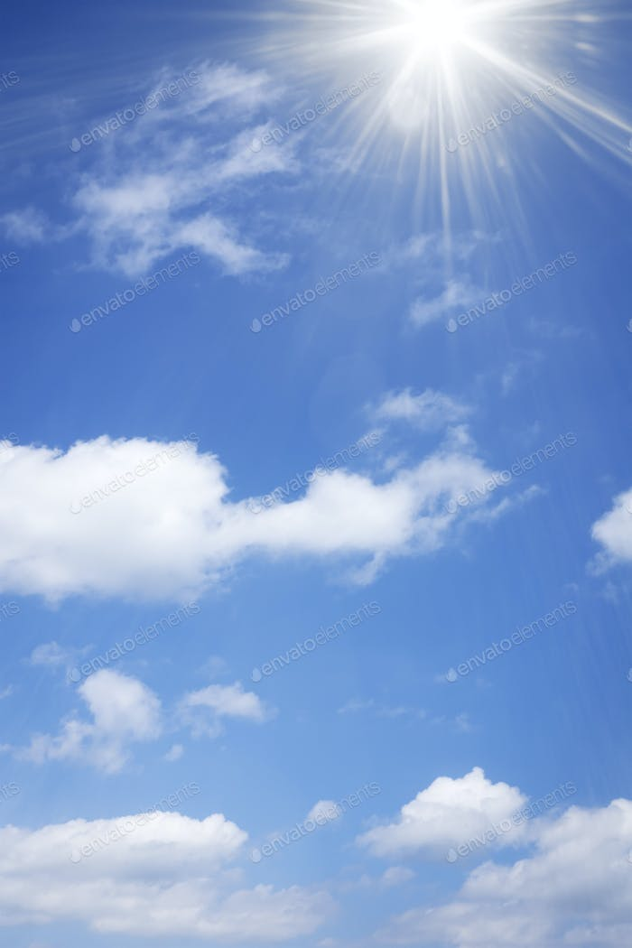 schöner Himmel Hintergrund