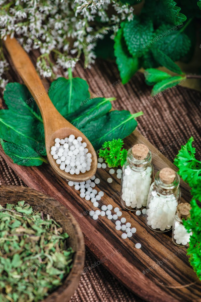 Homeopathy Close Up