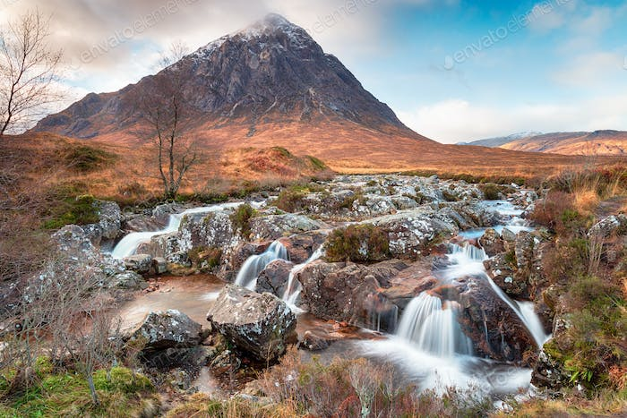 Glen Etive in Scotland