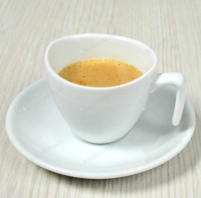 einfache Kaffeetasse