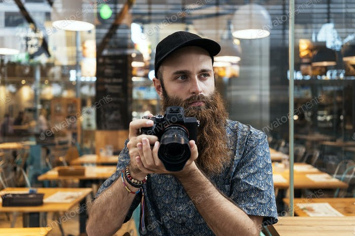 Professional Photographer taking photos