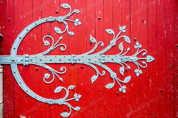 Sens - Cathedral door