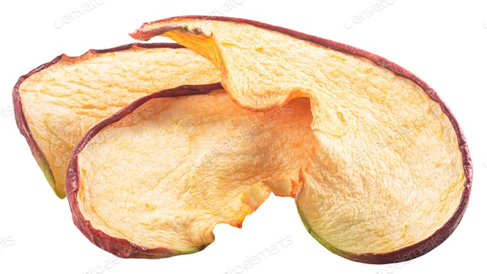 Roter Apfel knackige Chips, Pfade