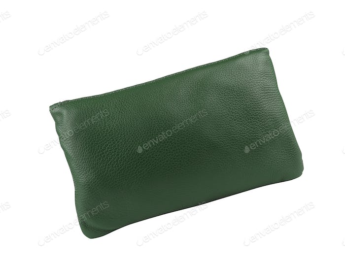 Green clutch isolated