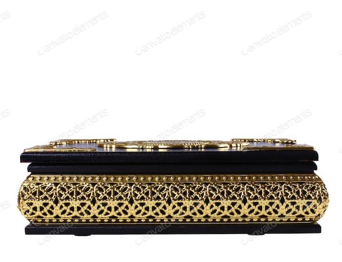 Black and Gold Quran Box