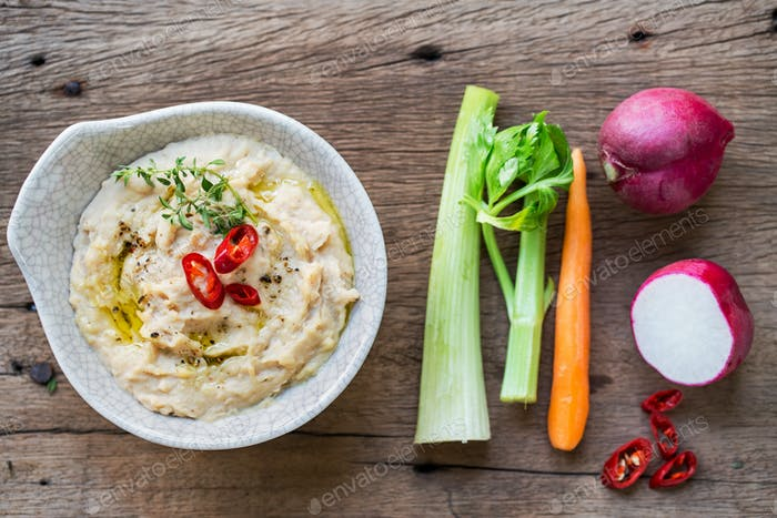 Cannellini Beans dip