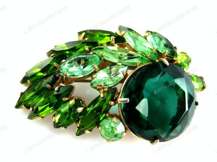 Diamant-Brosche