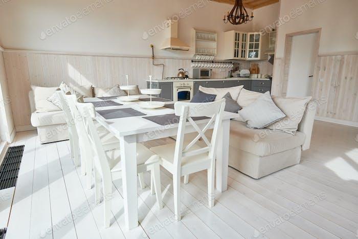 Modern Open Kitchen Interior