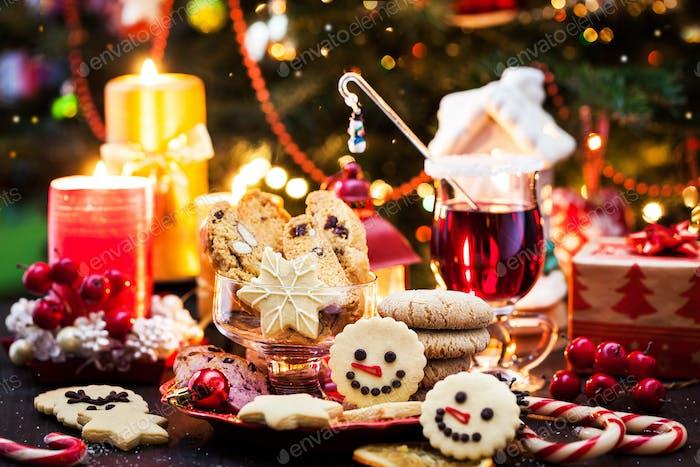 Holiday Christmas cookies