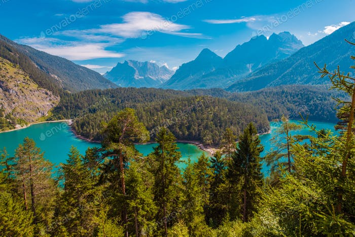 Lac Blindsee Mountain